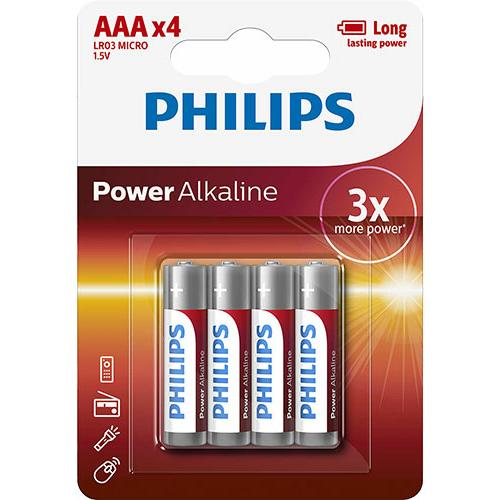 Philips Power Alkaline LR03/AAA elem