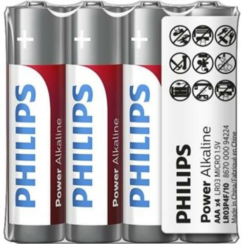 Philips Power Alkaline LR03/AAA elem zsugoros