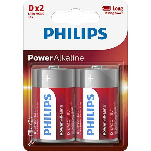 Philips Power Alkaline LR20/D elem