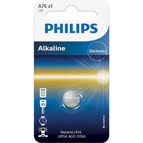 Philips LR44 (A76, V13GA, LR1154) gombelem