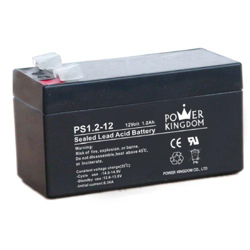 Power Kingdom 12V 1,2Ah VRLA akkumulátor