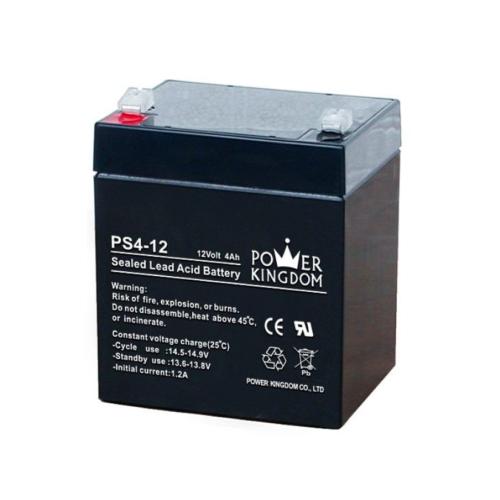 Power Kingdom 12V 4Ah VRLA akkumulátor