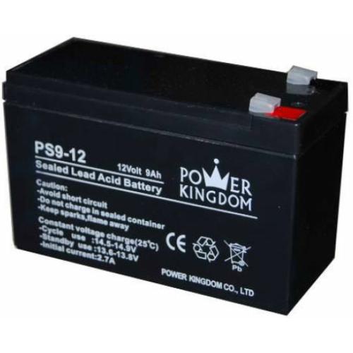 Power Kingdom 12V  9Ah VRLA akkumulátor