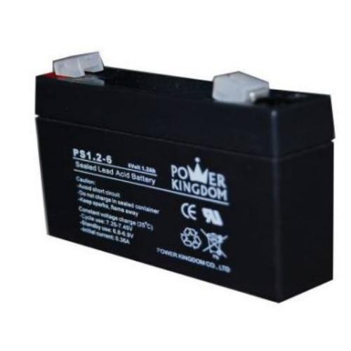 Power Kingdom 6V 1,2Ah VRLA akkumulátor