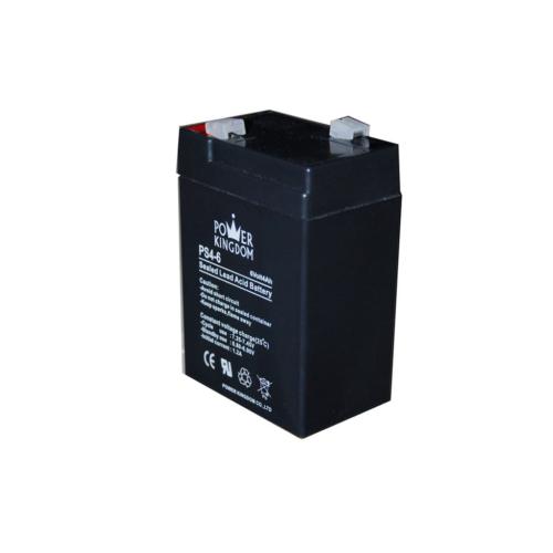 Power Kingdom 6V 4Ah VRLA akkumulátor