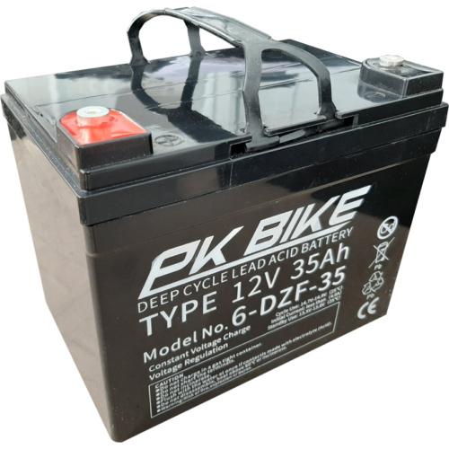 PK Bike 12V 35Ah VRLA meghajtó akkumulátor