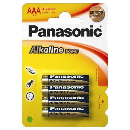 Panasonic Bronze Power LR03/AAA elem