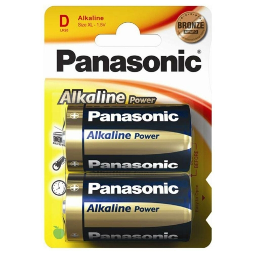 Panasonic Bronze Power LR20/D elem