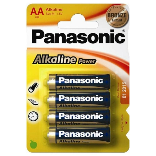 Panasonic Bronze Power LR6/AA elem