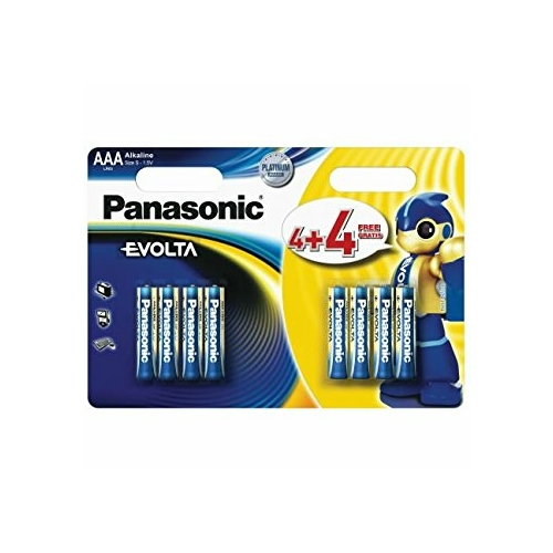 Panasonic Evolta LR03/AAA 4+4 elem