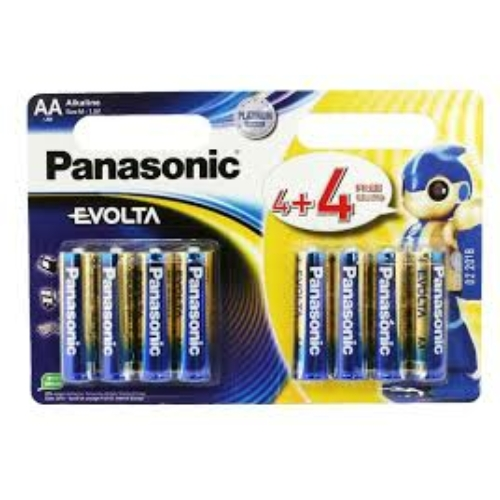 Panasonic Evolta LR6/AA 4+4 elem