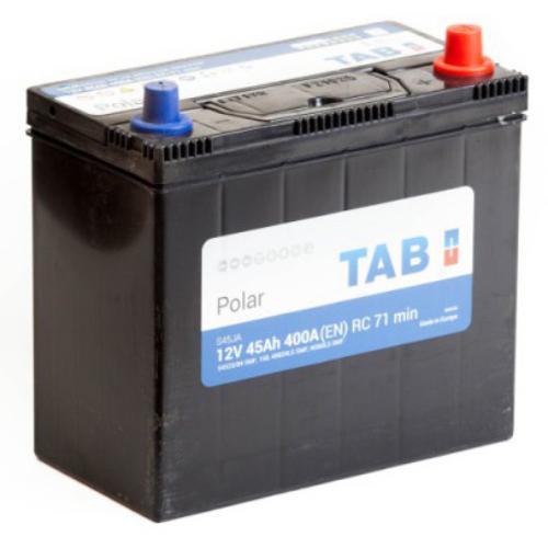 TAB Polar 55 Ah 540A Asia J+ akkumulátor