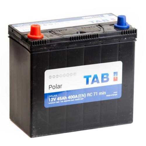 TAB Polar 55 Ah 540A Asia B+ akkumulátor