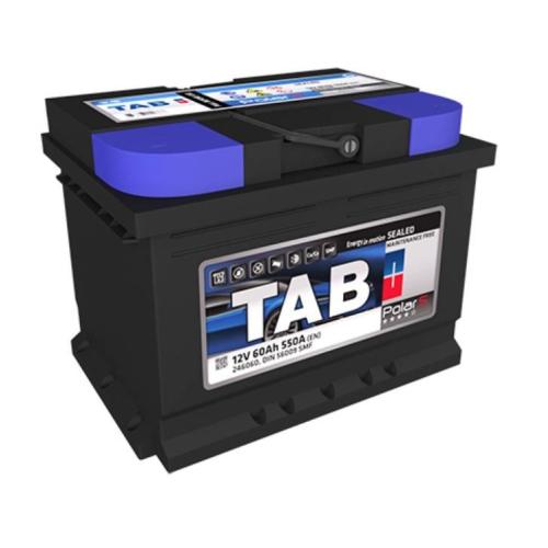 TAB Polar 12V 60Ah 550A bal+ akkumulátor (TAB56265)