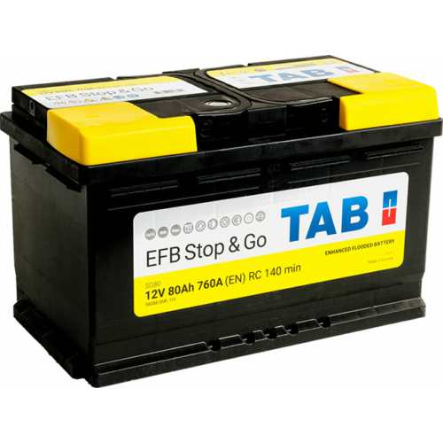 TAB Stop&Go EFB 80 Ah 760A akkumulátor