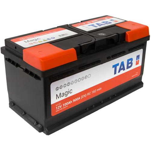 TAB Magic 12V 100Ah 900A jobb+ akkumulátor (60044)