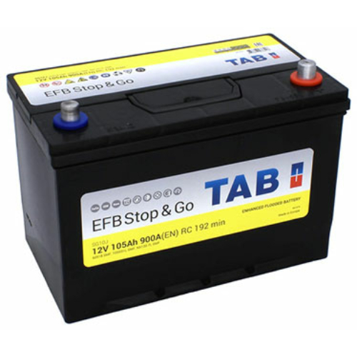 TAB Stop&Go EFB 105 Ah 900A ASIA J+ akkumulátor