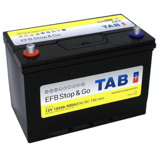 TAB Stop&Go EFB 105 Ah 900A ASIA B+ akkumulátor