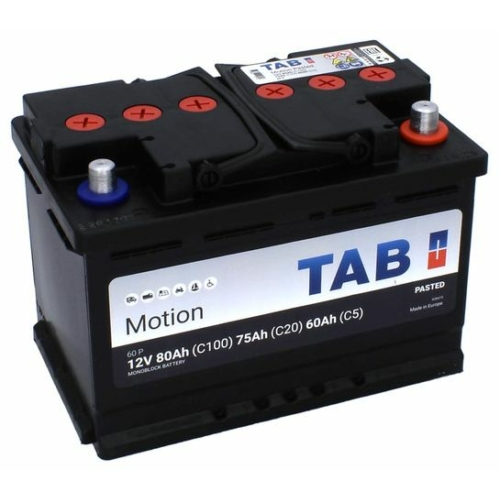 TAB Motion Pasted C20/75 C5/60 Ah