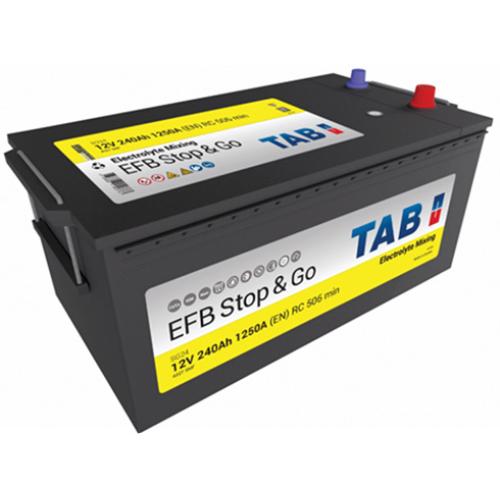 TAB Stop&Go EFB 12V 240Ah 1250A akkumulátor