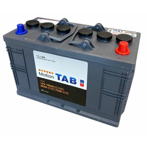 TAB Motion GEL C20/85 C5/75 Ah meghajtó akkumulátor (GF1276V / GF12070V)