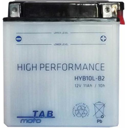 TAB Moto YB10L-B2 12V 11Ah 140A motorakkumulátor