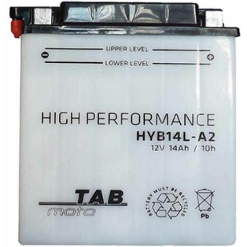 TAB Moto YB14L-A2 12V 14Ah 160A motorakkumulátor