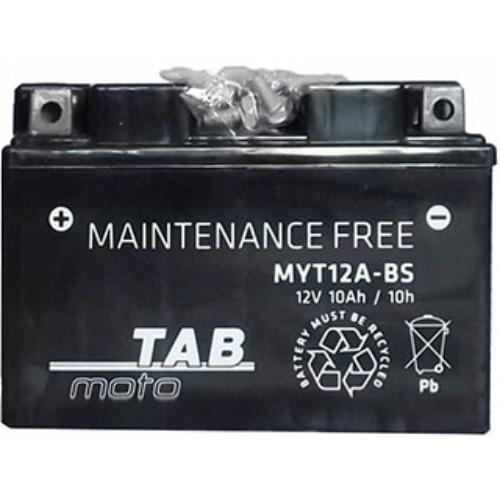 TAB Moto AGM YT12A-BS 12V 10Ah 120A motorakkumulátor
