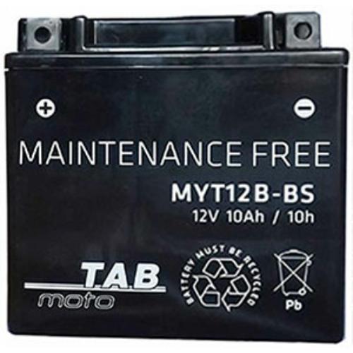 TAB Moto AGM YT12B-BS 12V 10Ah 110A motorakkumulátor