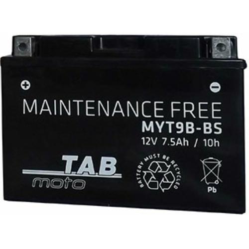 TAB Moto AGM YT9B-BS 12V 7,5Ah 80A motorakkumulátor