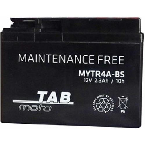 TAB Moto AGM YTR4A-BS 12V 3Ah 45A motorakkumulátor