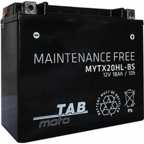 TAB Moto AGM YTX20HL-BS 12V 18Ah 250A motorakkumulátor