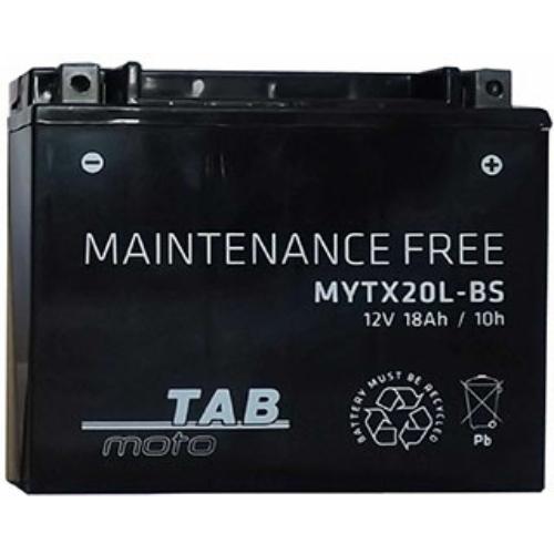 TAB Moto AGM YTX20L-BS motorakkumulátor