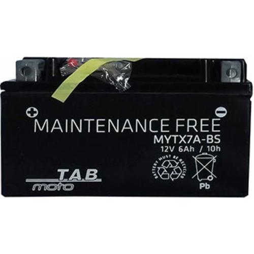 TAB Moto AGM YTX7A-BS motorakkumulátor