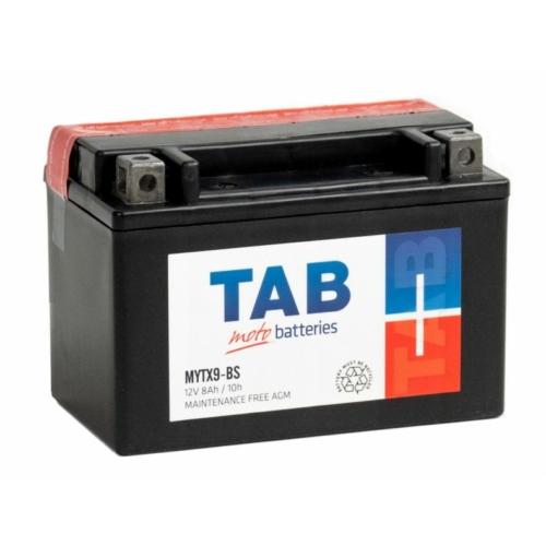 TAB Moto AGM YTX9-BS 12V 8Ah 90A motorakkumulátor