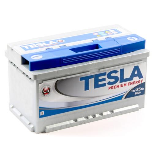 TESLA Premium 12V 85Ah 800A jobb+ akkumulátor