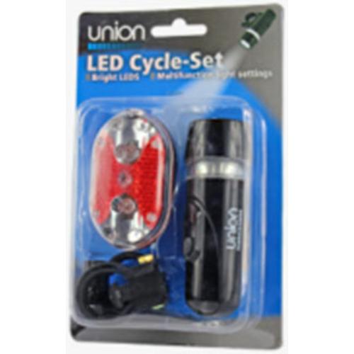 UNION LED kerékpárlámpa szett