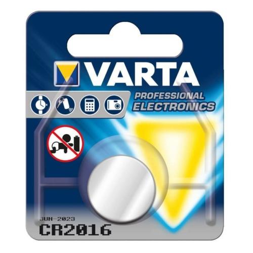 Varta Lithium 2016 3V gombelem