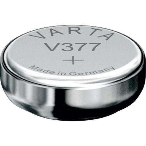Varta Silver Oxid 379/SG0/SR521SW 1,5V gombelem