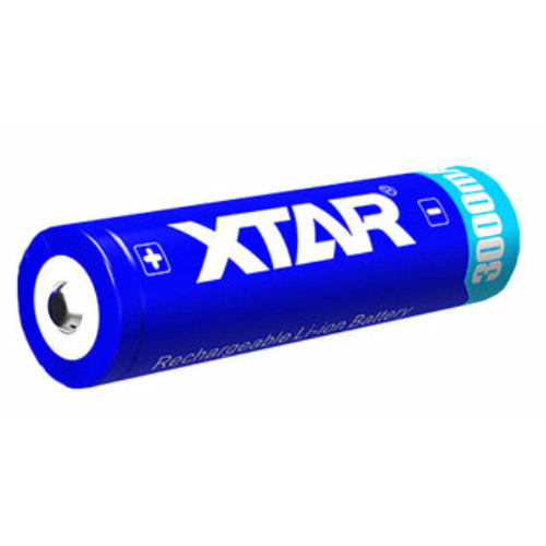 XTAR 18650 AA 3,6V 3000 mAh lithium elem