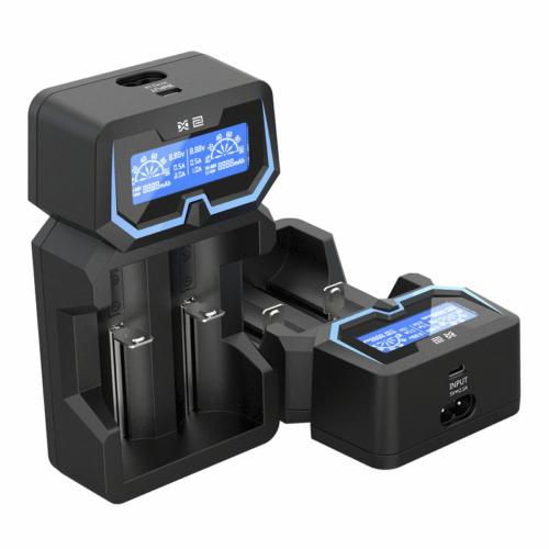 XTAR X2 LI-ION univerzalis töltő 0,5A/1A