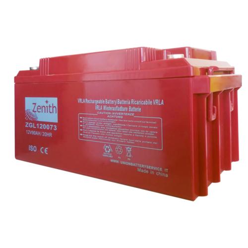 Zenith ZGL120073 12V C20/90Ah C5/75 M6 AGM akkumulátor