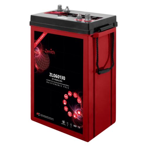 Zenith ZL060130 6V C20/410Ah C5/320 DT AGM Deep-Cycle akkumulátor