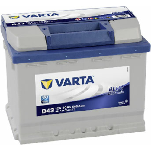 Varta Blue Dynamic 60 Ah 540A B+ (5601270543132)