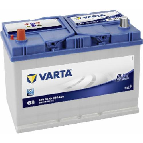 Varta Blue Dynamic 95 Ah 830A Asia B+ (5954050833132)