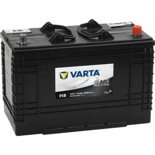 Varta Promotive Black 110 Ah 680A J+ talpas (610404068A742)
