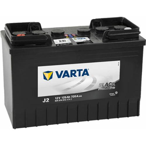 Varta Promotive Black 125 Ah 720A B+ (625014072A742)