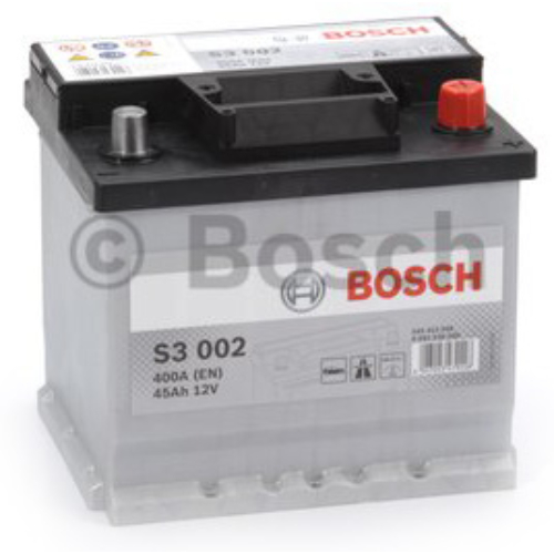 Bosch S3 002 45Ah 400A akkumulátor (0092S30020)