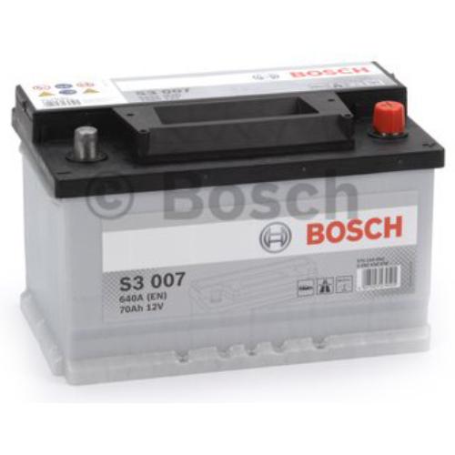 Bosch S3 007 70Ah 640A akkumulátor (0092S30070)