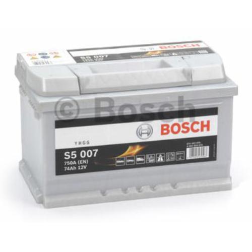 Bosch S5 007 74Ah 750A akkumulátor (0092S50070)